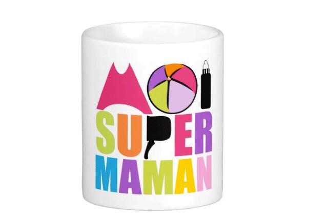 Un Mug de Super Maman