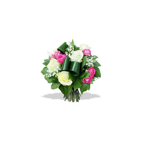 Bouquet rose & bonheur