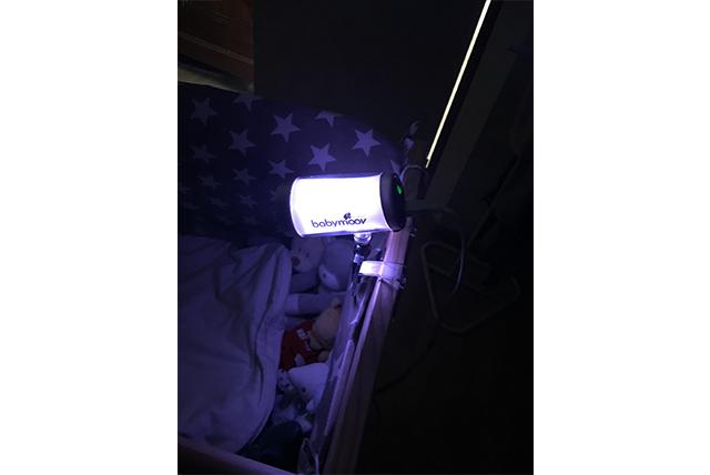 Le test de la Baby Camera 0% émission chez Floffy
