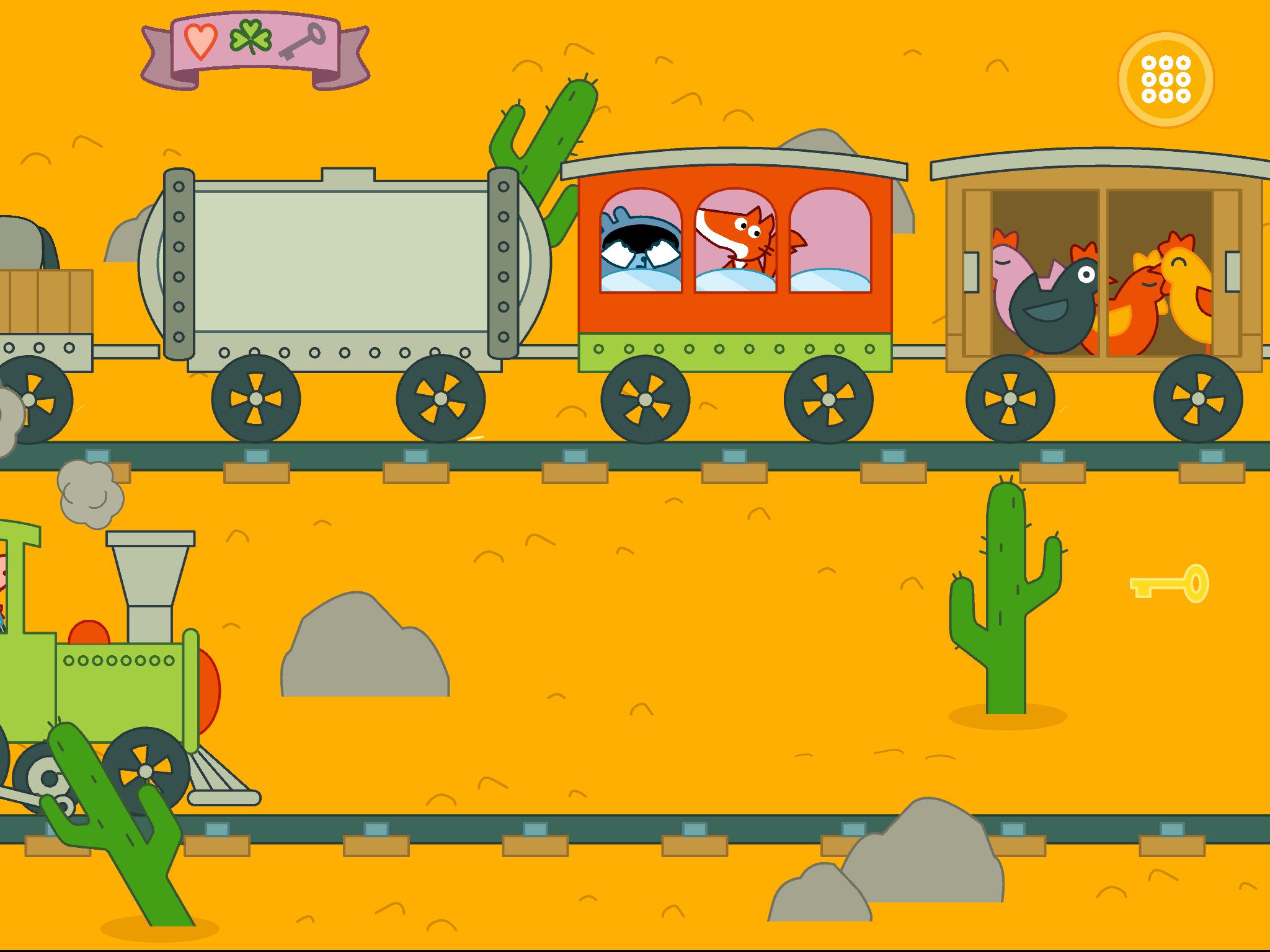 Pango Cache-cache dans le train !