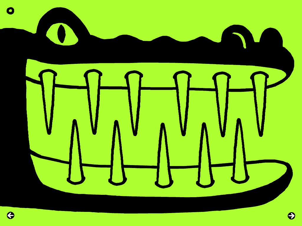 Le crocodile !