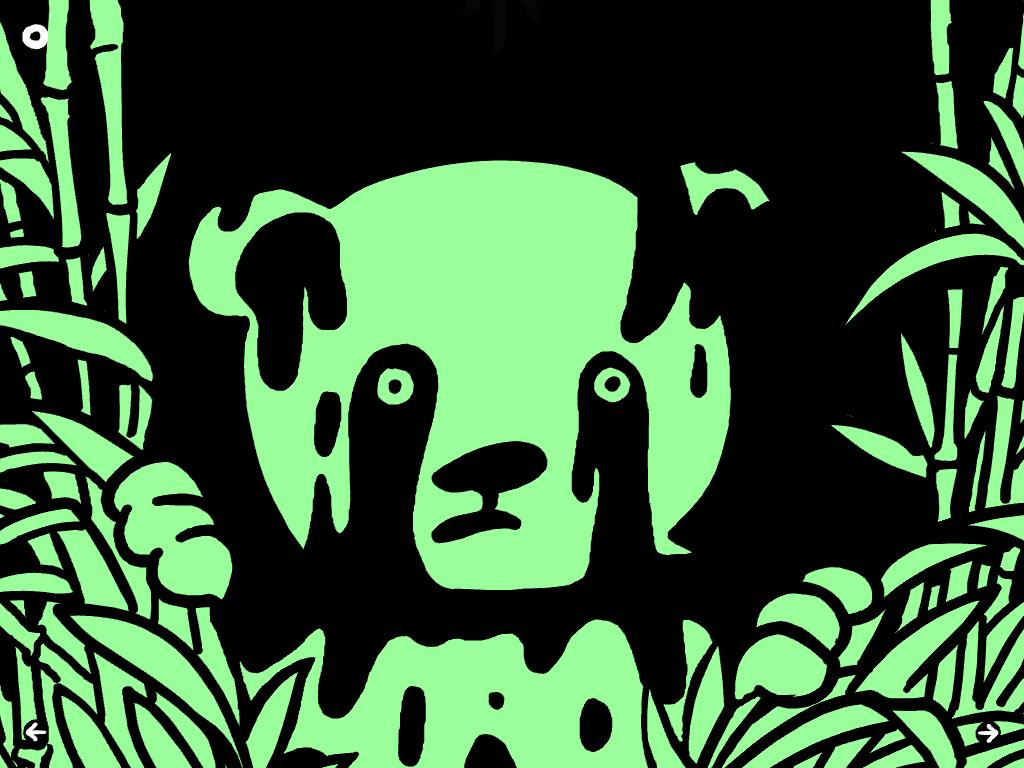 Le panda !