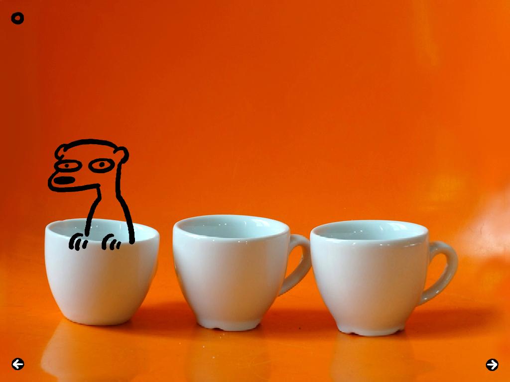 La tasse de café !