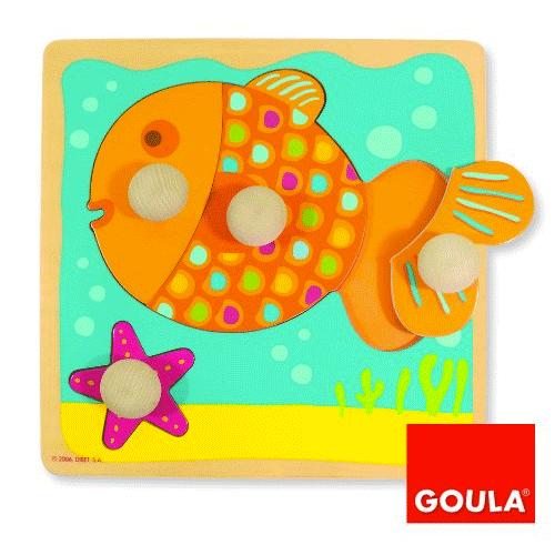 Un puzzle original en forme de poisson !