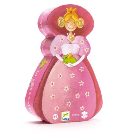 Un puzzle ludique en forme de princesse !