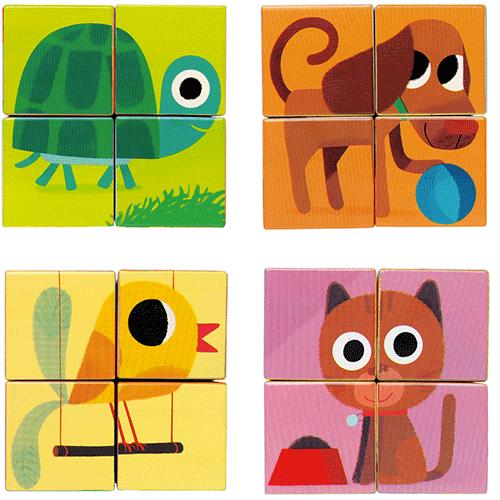Un puzzle sur les animaux !
