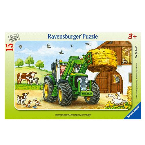Un Puzzle sur le thème de la ferme !