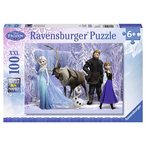 Un puzzle la reine des neiges !