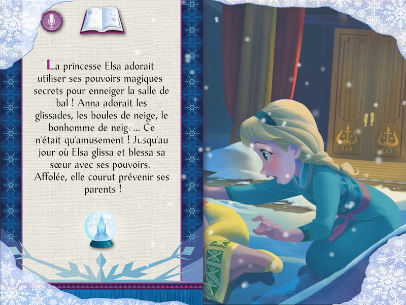 La princesse Elsa...