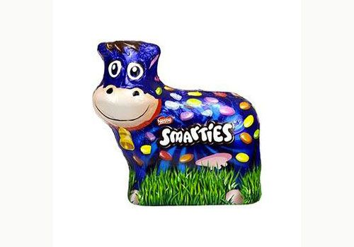 La vache en chocolat de Smarties