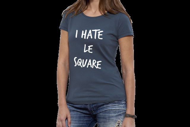 Le T-SHIRT I Hate le square