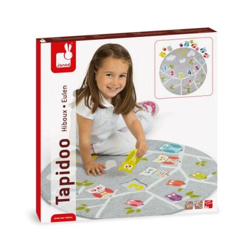 Un puzzle ludique avec des hiboux tout doux !
