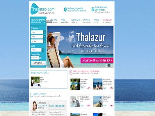 Le site internet de Thalasseo
