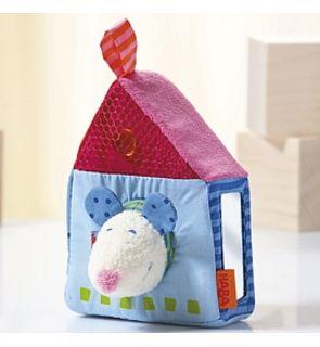 Hochet en tissu La souris et sa maison de HABA