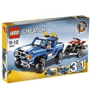 Le 4x4 et le quad lego creator