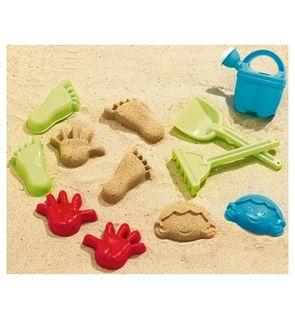 Set moule à sable pieds et mains