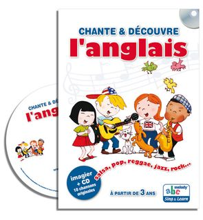 Livre-CD Chante et découvre l'anglais