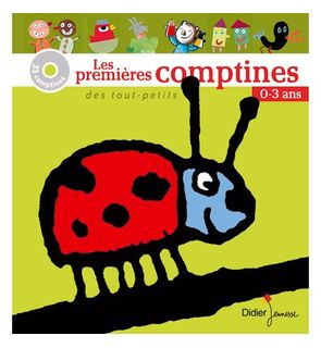 Livre-CD Les premières comptines des tout-petits