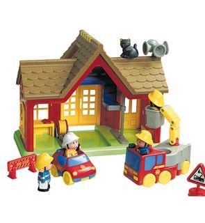 La caserne des pompiers happyland