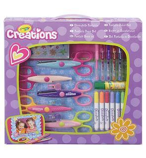 Découpage fantaisie Crayola