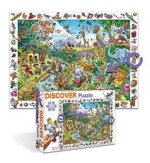 Puzzle découvertes - Le safari 70 pièces