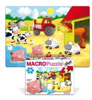 Puzzle géant de sol - La ferme 34 pièces