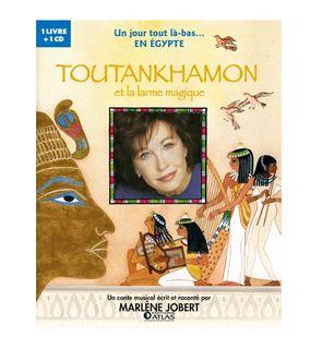 Livre-CD Un jour Egypte Toutankhamon et la larme magique