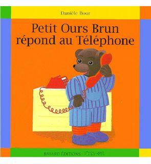 Petit Ours Brun répond au téléphone