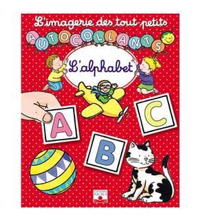 L'alphabet - autocollant L'imagerie des touts petits