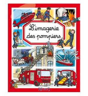 Livre Imagerie les pompiers
