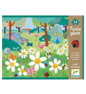 Puzzle géant - Le jardin 24 pièces