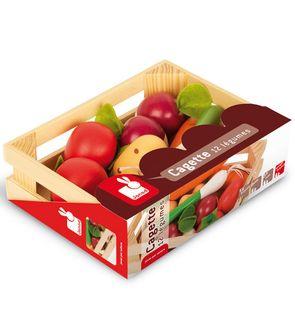 Cagette 12 légumes en bois