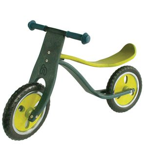 Vélo sans pédales en bois
