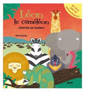 Léon le caméléon cherche sa couleur