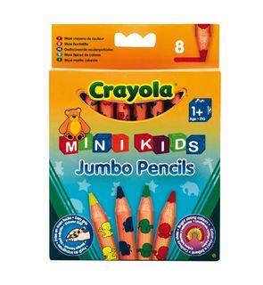 8 maxi crayons de couleurs Mini Kids Crayola