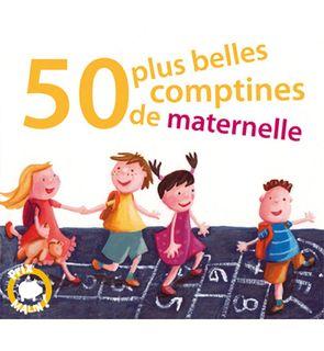 Coffret 3 CD 50 plus belles comptines de maternelle