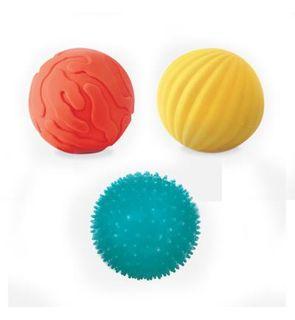 Coffret de 3 petites balles sensorielles