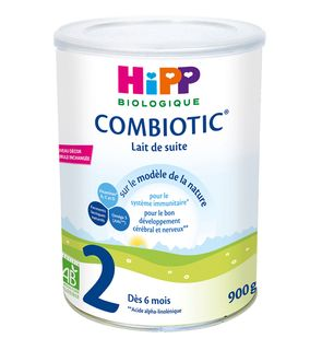 Lait biologique 2ème âge combiotic