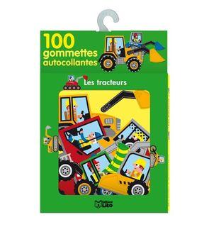 100 gommettes Tracteurs