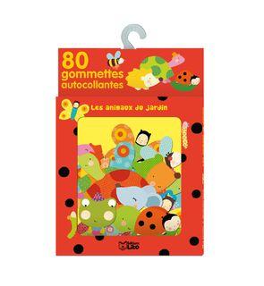 80 gommettes Les animaux du jardin