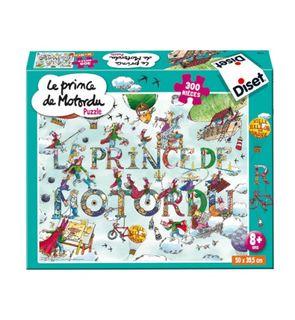 Puzzle Le prince de Motordu 300 pièces
