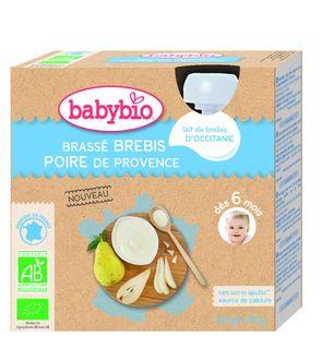 Brassé lait de brebis et poire de Provence