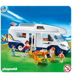 Grand camping-car familial