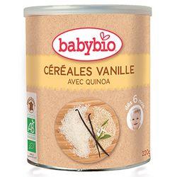 Céréales vanille avec quinoa