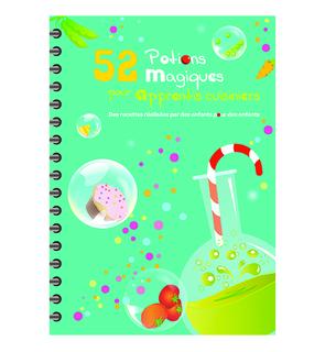 52 potions magiques pour apprentis cuisiniers