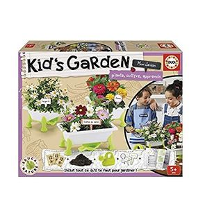 Kid's Garden Fleurs : Marguerites, Zinias, Cosmos