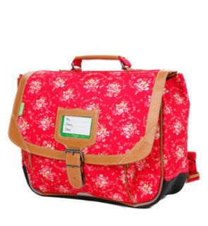 Cartable 35 cm Fantaisies London Fraise