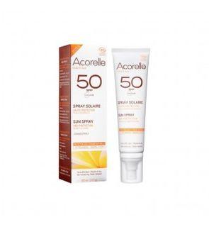 ACORELLE Spray Solaire Haute Protection SPF 50 - 100ml