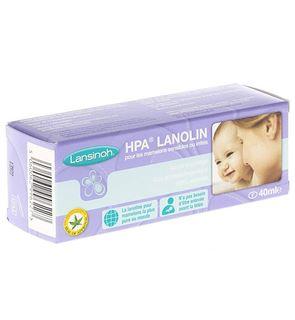 Crème protectrice du mamelon à base de Lanoline
