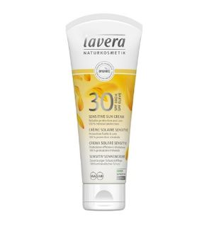 Crème solaire sensitive de Lavera